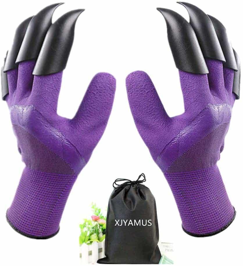 Garden Genie Waterproof Garden Gloves With Claws