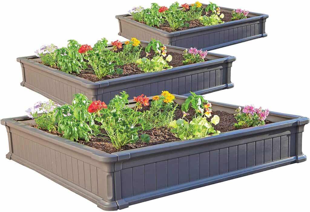 Lifetime 60069 Raised Garden Bed Kit