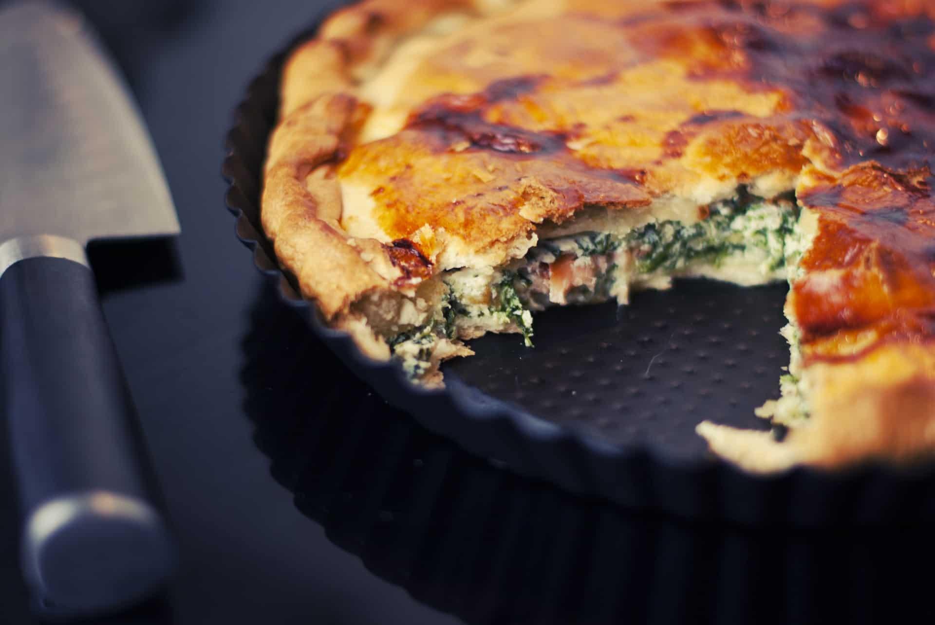 Vegetable cheese pie
