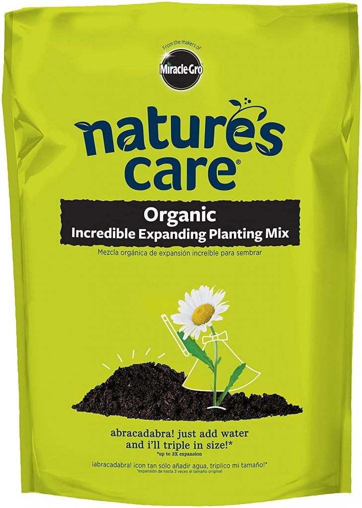 Nature's Care Organic Incredible Expanding Planting Mix